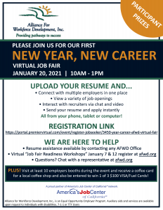 New Year, New Career Flyer