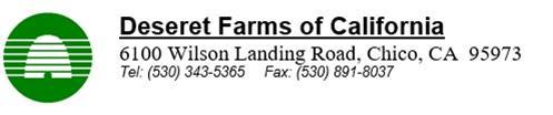 Deseret Farms of CA