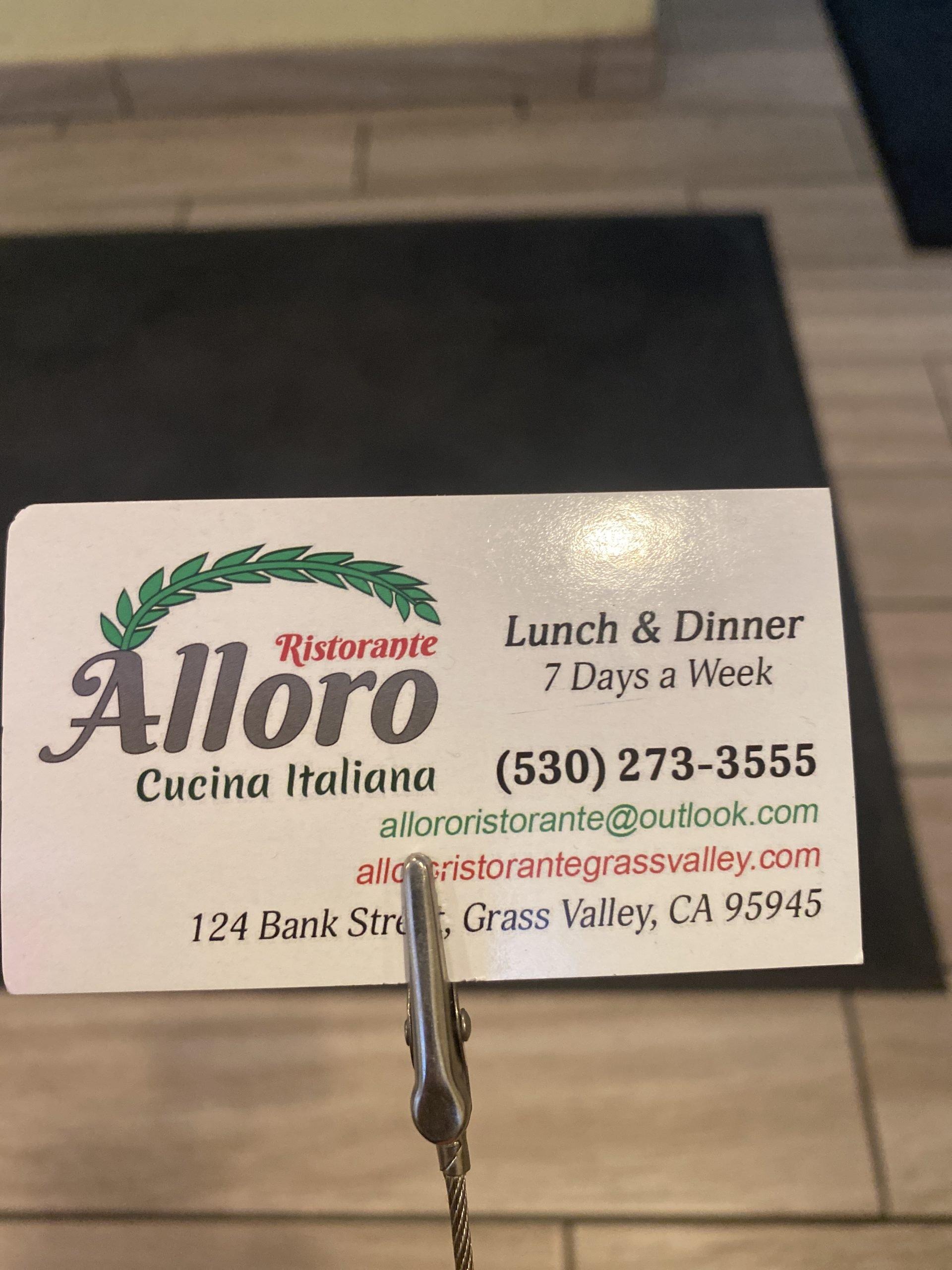 Alloro Cucina Italiana